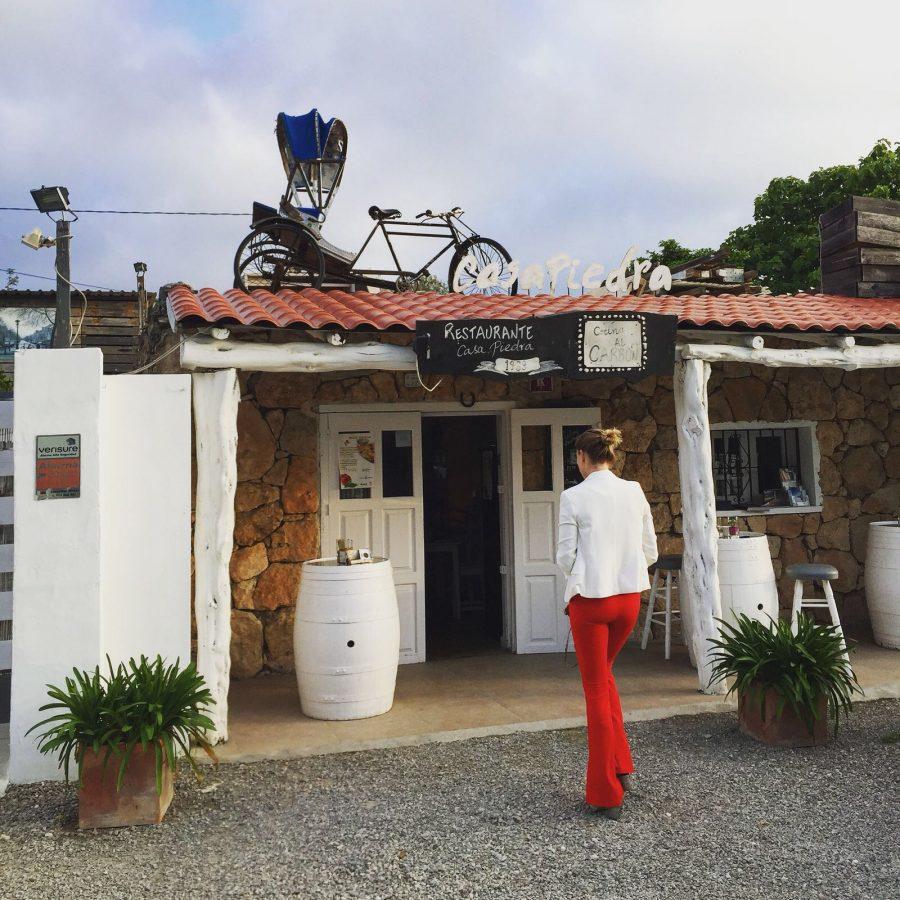 casa piedra ibiza, bijzondere restaurants ibiza, beste restaurants van Ibiza