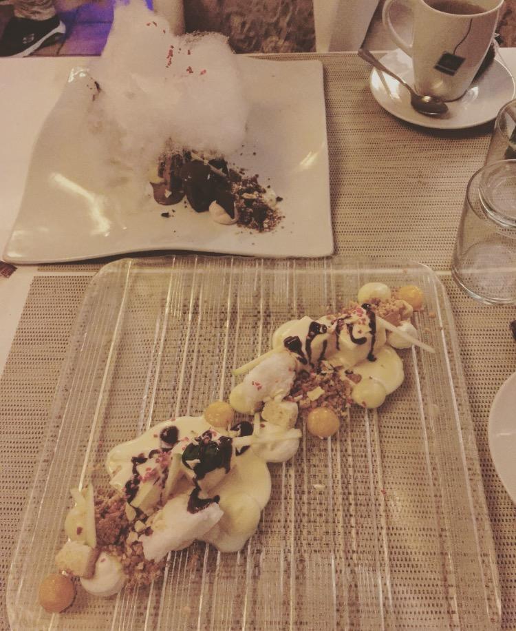 restaurant casa piedra, ibiza, cheesecake, brownie, suikerspin, beste restaurants van Ibiza