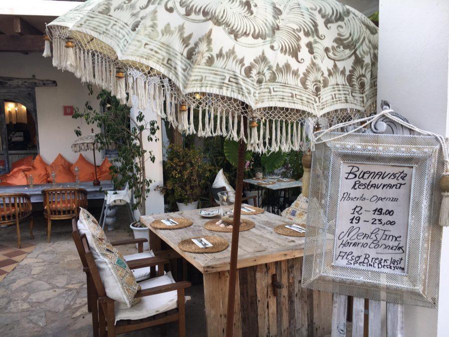 Buenavista Suites & Lounge Ibiza, beste restaurant van Ibiza