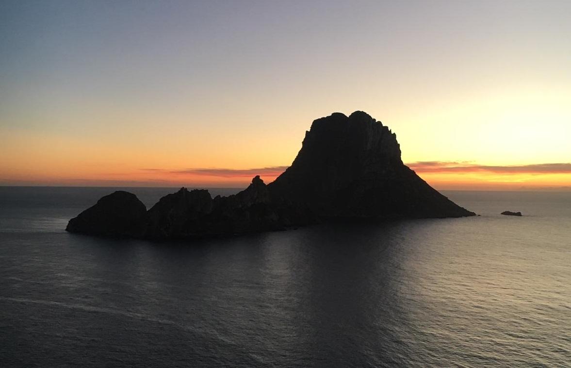es vedra, actieve vakantie ibiza sunset