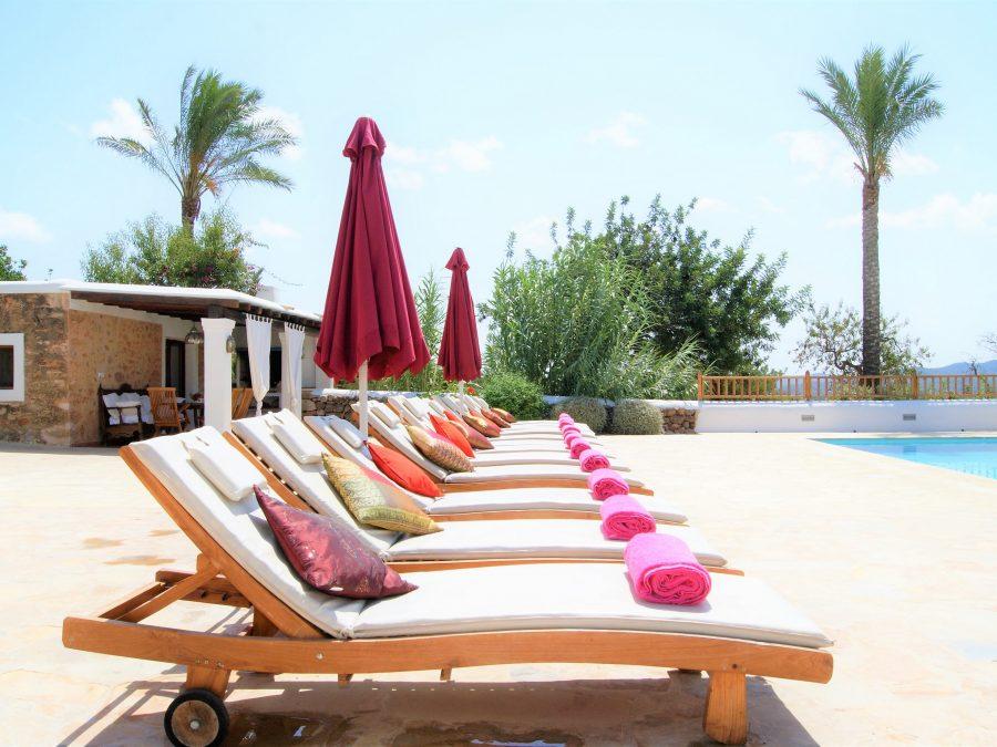 Finca Sitges, villa's voor een yoga retreat op Ibiza, ibiza vakantie villas