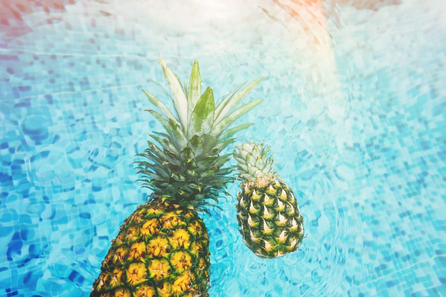 pineapple, tips voor verkoeling