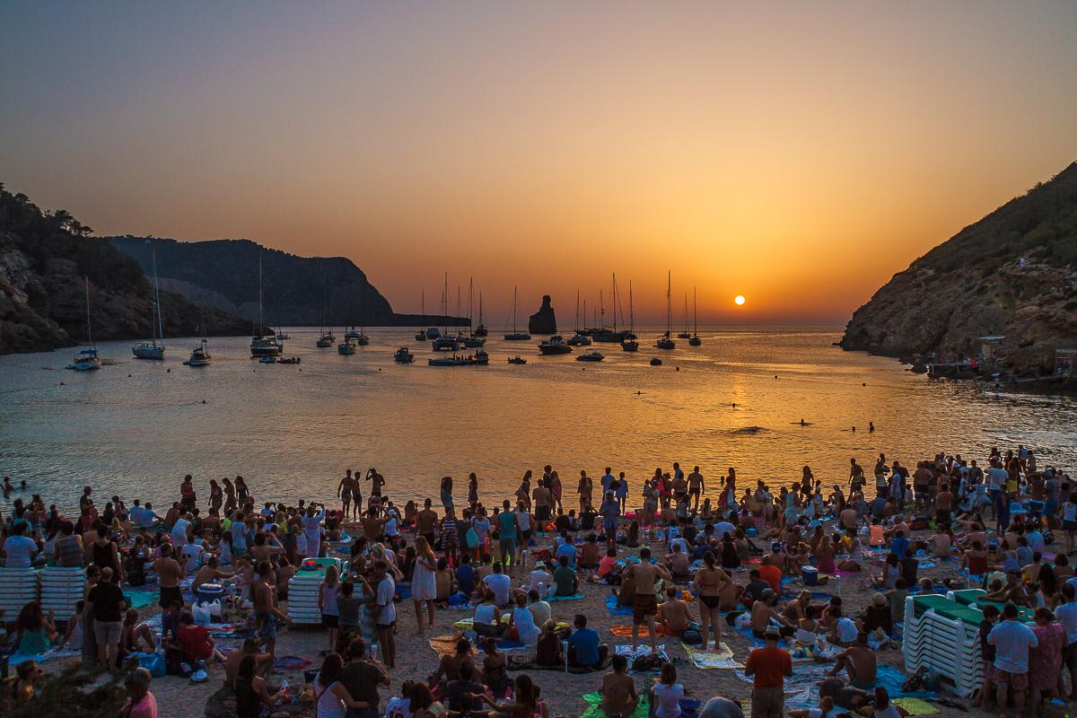 nazomer op Ibiza