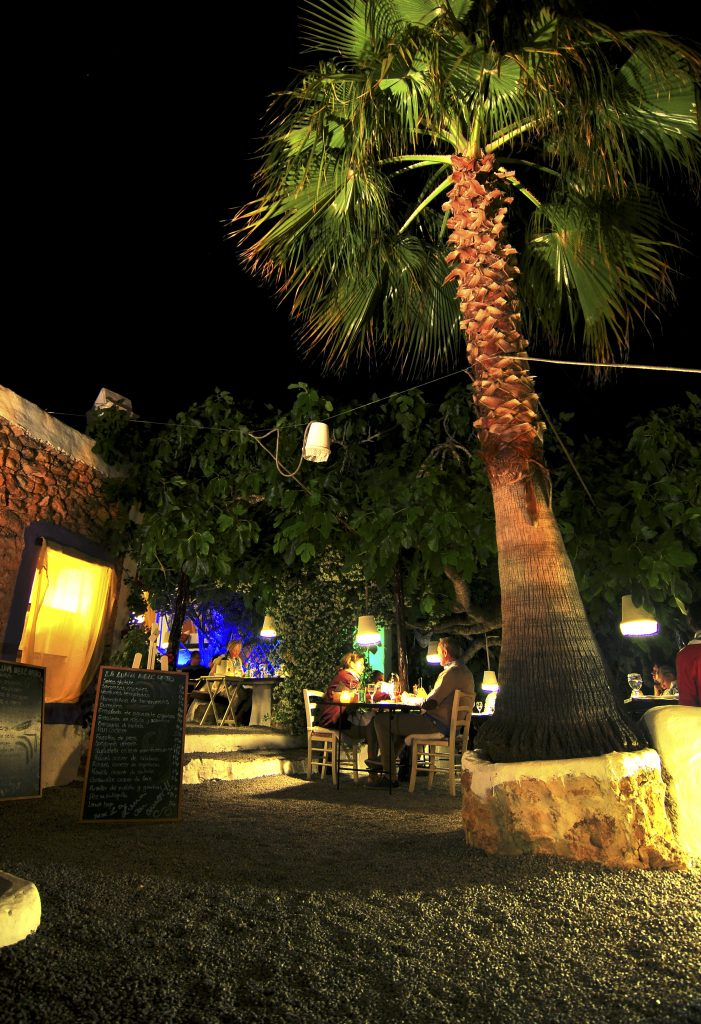 het noorden van Ibiza